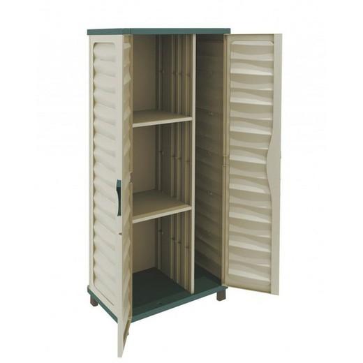 Armoire de jardin en résine plastique Gardiun Cabinet 74,5x43,5x157,5cm