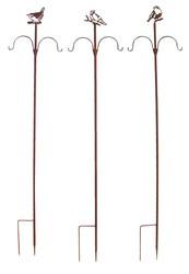 Esschert Design FB408 Series Anthracite Bird Table on Stick