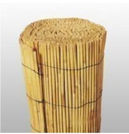 Peeled woven bamboo screen roll of 5 m
