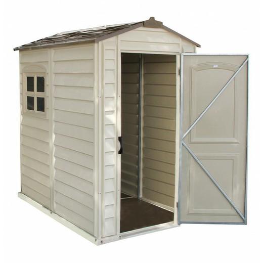 meilleur service 05915 1f343 Petit Abri de Jardin PVC - Duramax Woodstyle Premium 2,13 m2