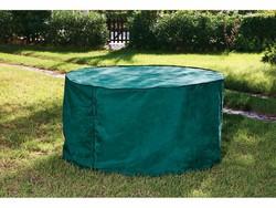 Housse de protection en polyéthylène pour table de jardin ronde
