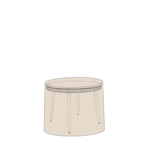 Funda protege muebles mesa de comedor redonda 150 cm diámetro x 78 cm Catral