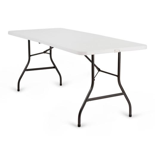 Table de Jardin en Plastique - Style Brasserie Pliable