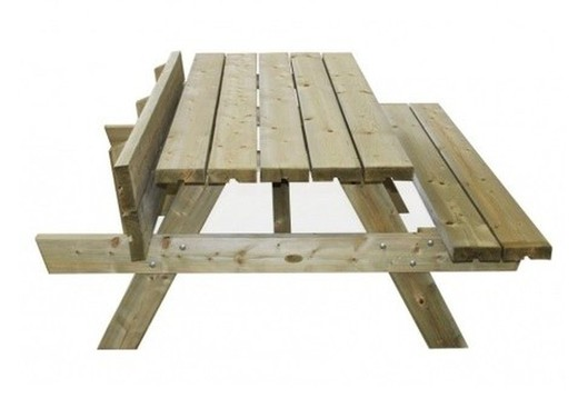 Palmako Ruby Picnic Table 53ft X 59ft X 24ft Brycus