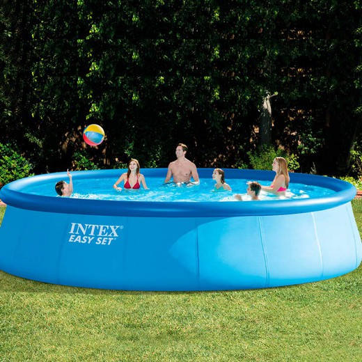 Selbsttragender Pool Intex Easy Set 549 x 122 cm