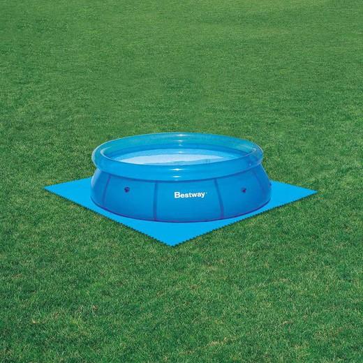 1b92aece Protector suelo para piscinas 8 piezas de 50x50cm de polietileno esponjoso