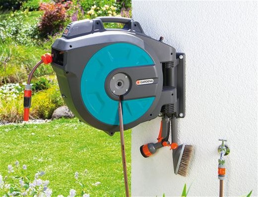 Voorkeur Gardena Wall-Mounted Hose Box 35 Roll-Up Automatic Li — Brycus FU79