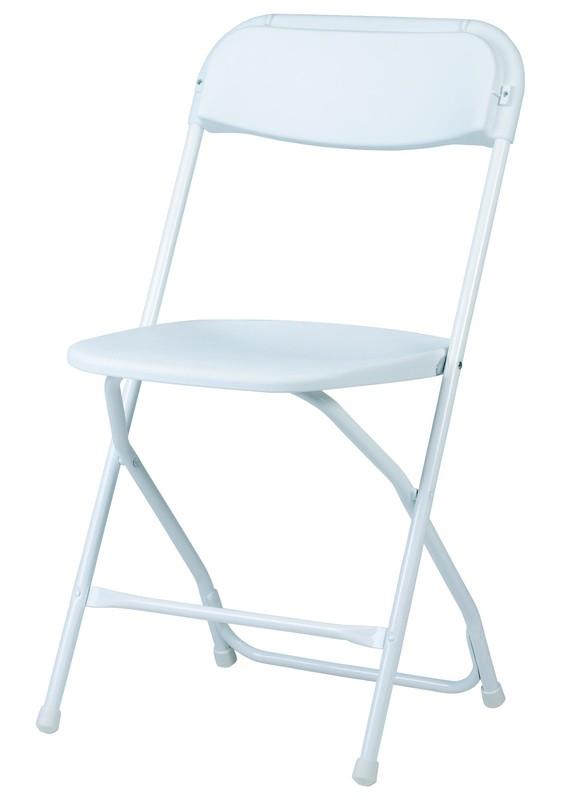 zown alex blanche chaise pliante 45 1 x 43 8 x 80 3 cm. Black Bedroom Furniture Sets. Home Design Ideas