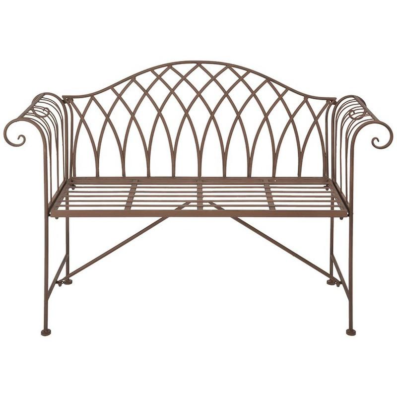 Banc De Jardin En Métal 1305 X 460 X 900 Cm Esschert Design Mf009