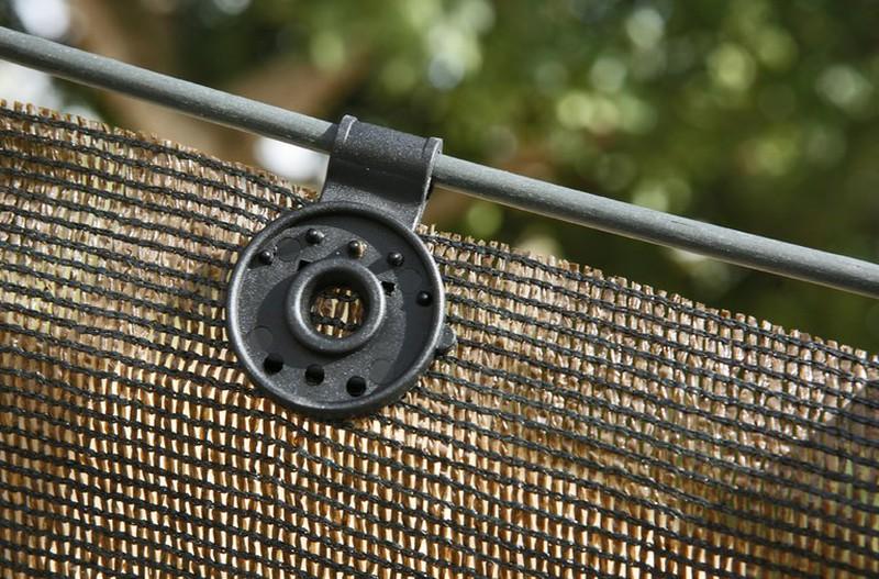 clips de fixation x10 pour brise vue brycus. Black Bedroom Furniture Sets. Home Design Ideas