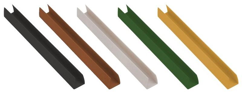 Belle Profilé de finition en U pour treillis PVC - Longueur 2,12 m SY-17