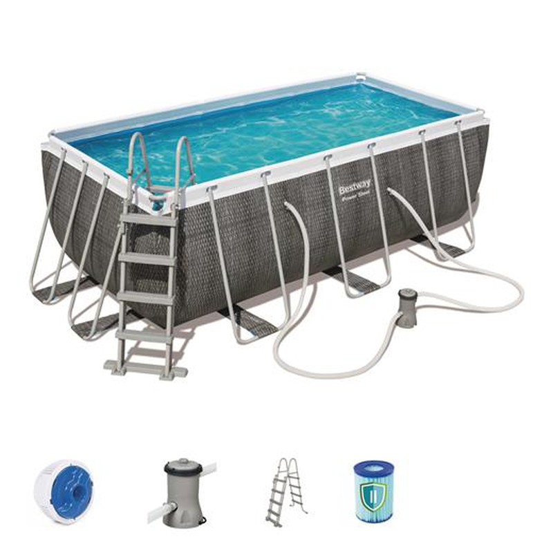 Piscina desmontable tubular bestway power steel for Best way piscine