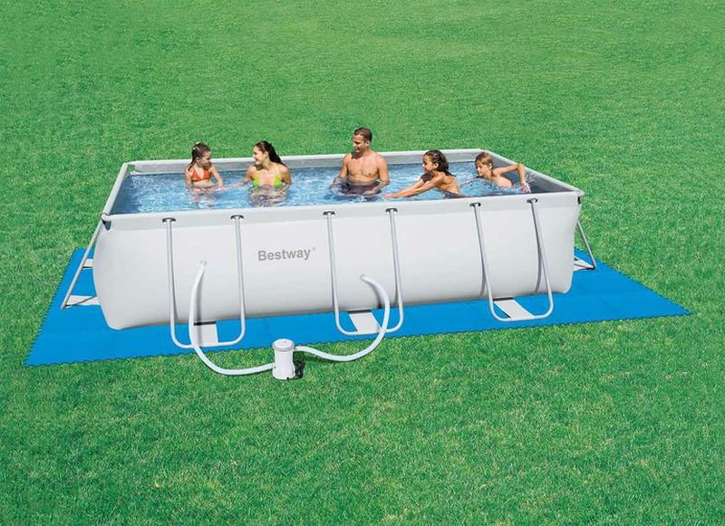 tapis de sol pais pour piscine hors sol bestway 50 x 50. Black Bedroom Furniture Sets. Home Design Ideas