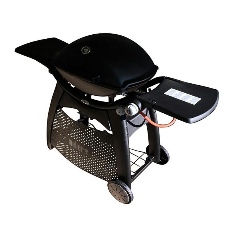 gasgrill weber 3000 schwarz mit deluxe tisch brycus. Black Bedroom Furniture Sets. Home Design Ideas